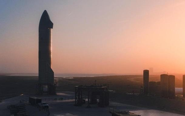 Маск назвал причину аварии Starship