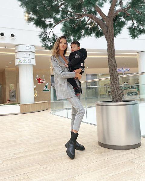 Оксана с сыном Леоном