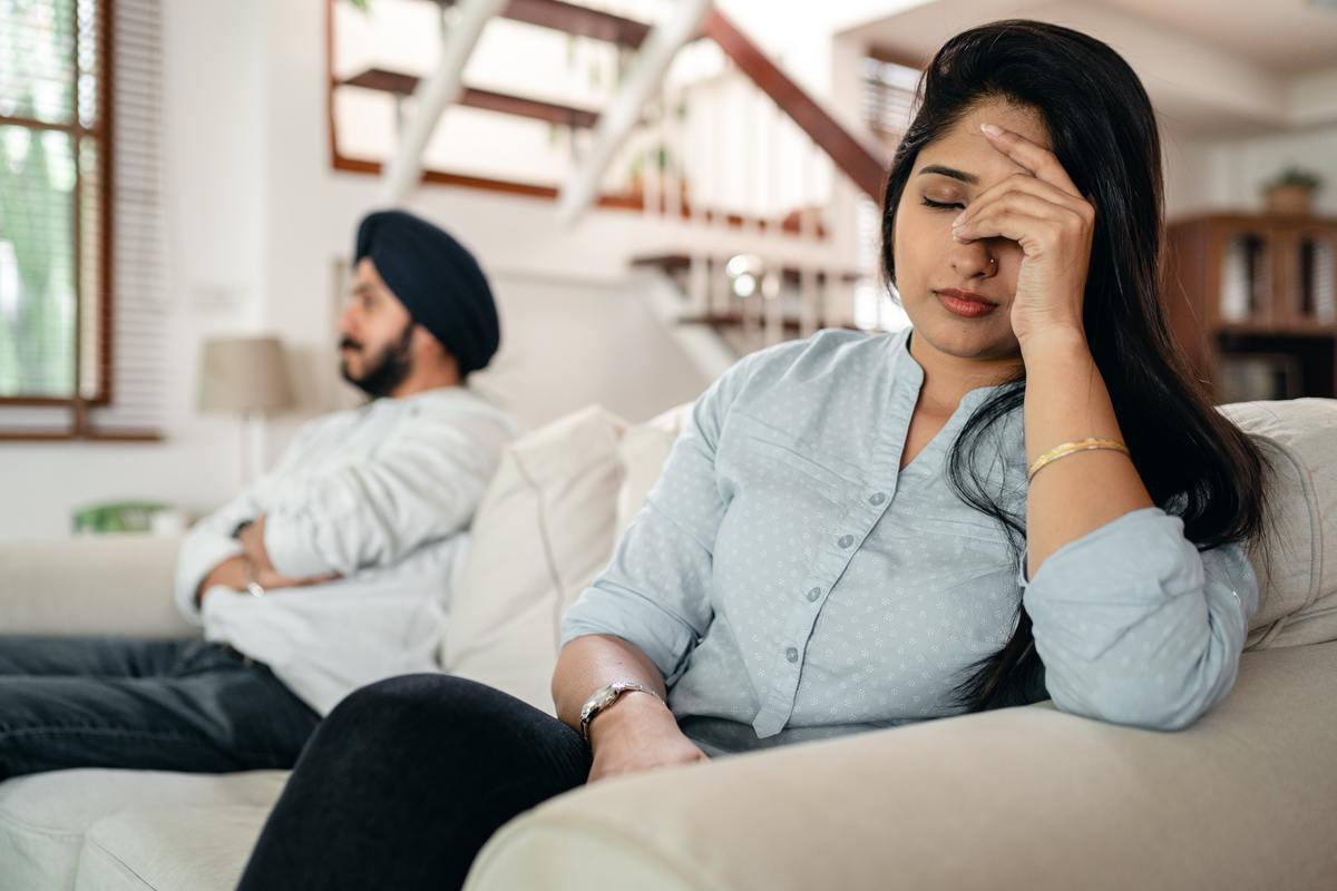 После 18 переездов за три года терпению мужа пришел конец и он подал на развод