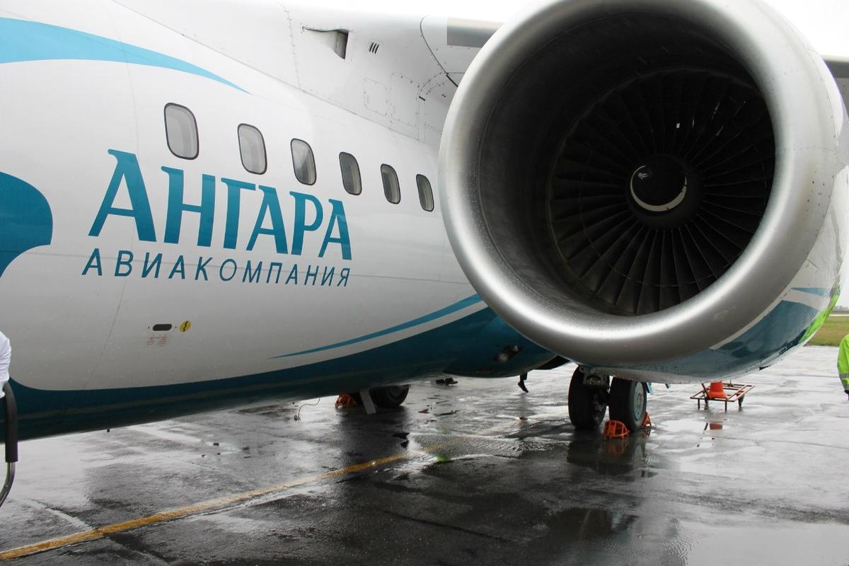 Самолет авиакомпании «Ангара».