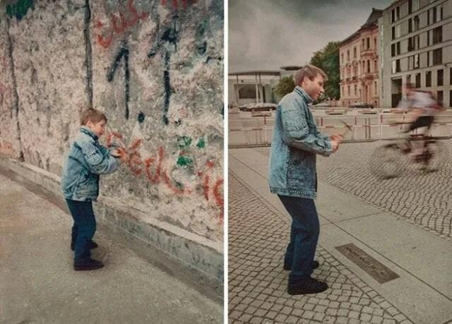 До и после падения Берлинской стены