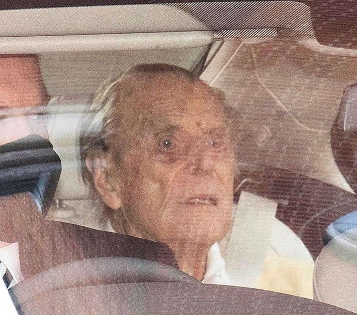 Последняя резонансная фотография принца Филиппа, март 2021 года © Twitter.com
