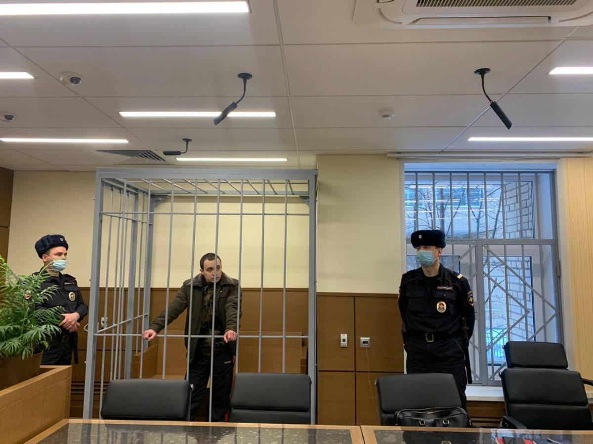 «Год колонии»: суд огласил приговор участнику незаконного митинга вМоскве