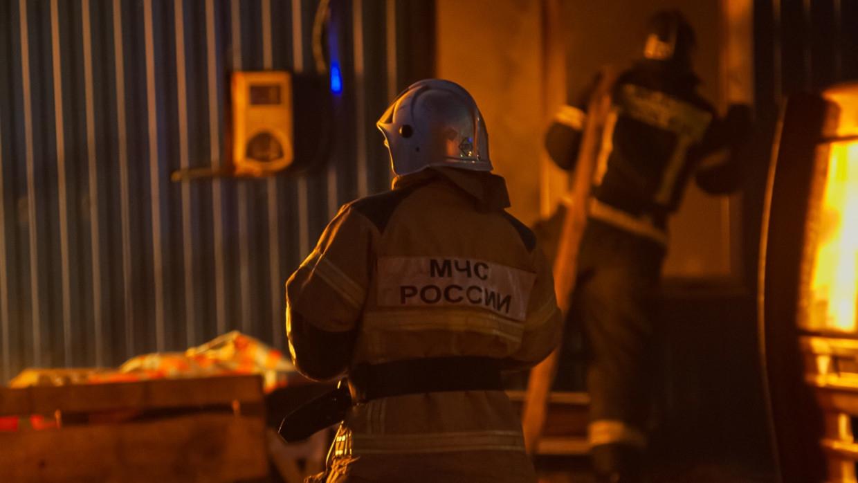 Пожар в производственном ангаре в Санкт-Петербурге локализован