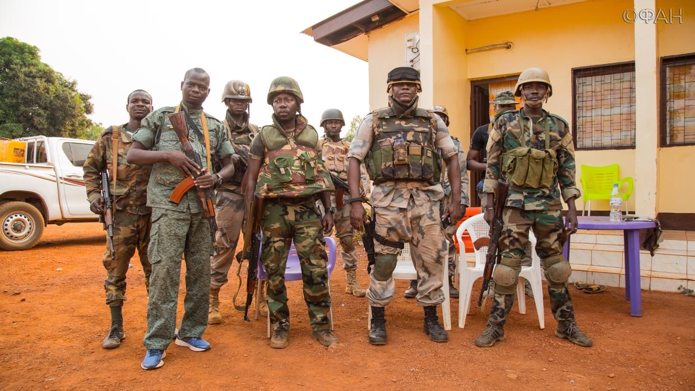 Армия ЦАР разгромила боевиков в крупном бою на северо-западе страны