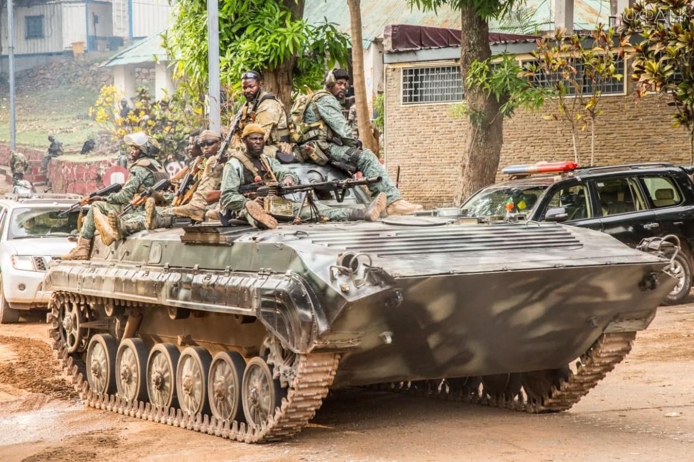 Армия ЦАР зачистила от боевиков два города в центре страны
