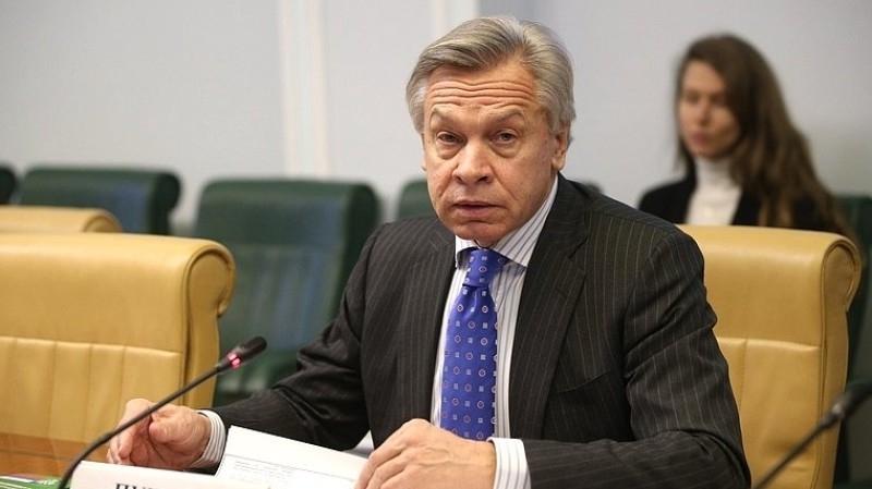 Пушков посоветовал ФРГ не вести переговоры со спецпосланником США по «СП-2»