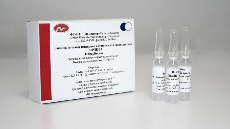 Партия вакцины от COVID-19 «ЭпиВакКорона» прибудет в Петербург к выходным
