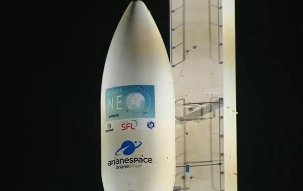 В Гвиане стартовала ракета с двигателем Южмаша