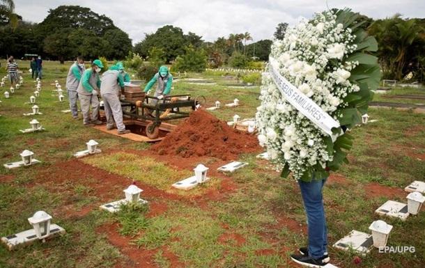 В Латинской Америке более миллиона COVID-смертей