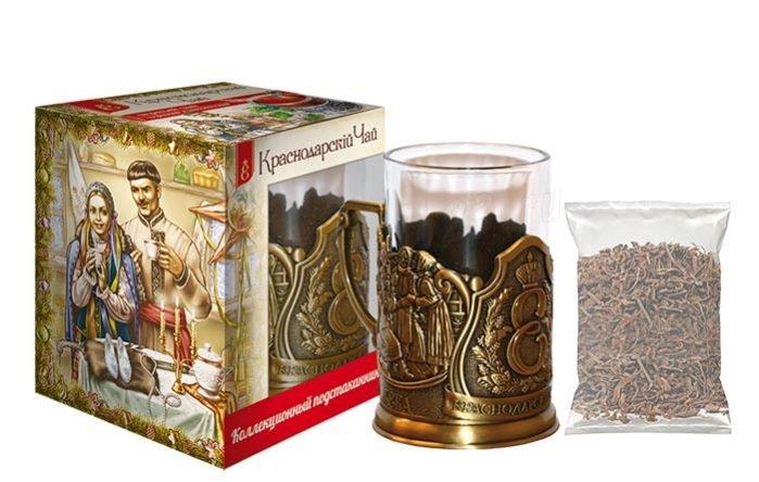 Подарочные наборы подстаканников для чая