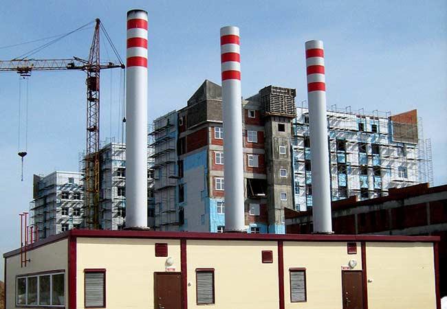 Полный комплекс работ по изготовлению и монтажу дымовых труб
