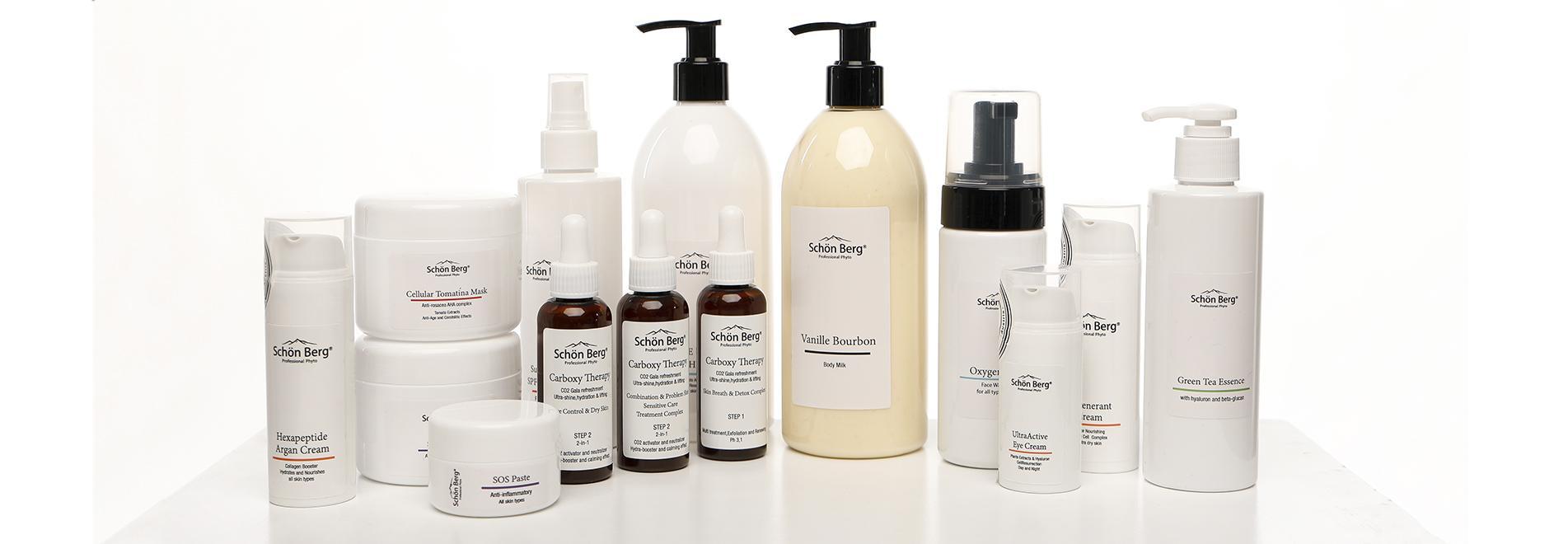 Преимущество кремов beauty spa. Косметика Schon Berg