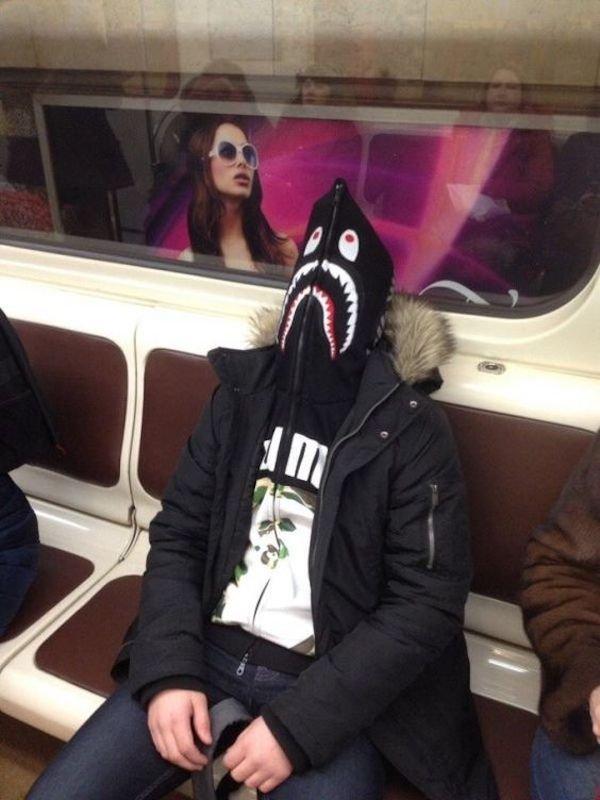 Когда забыл маску