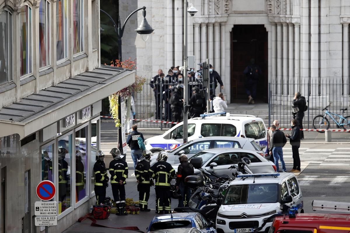 Теракт. Франция.