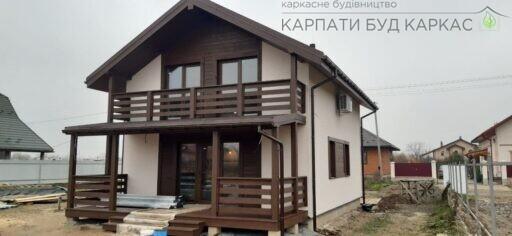Энергосберегающий каркасно-щитовой дом в Киеве от компании КБК