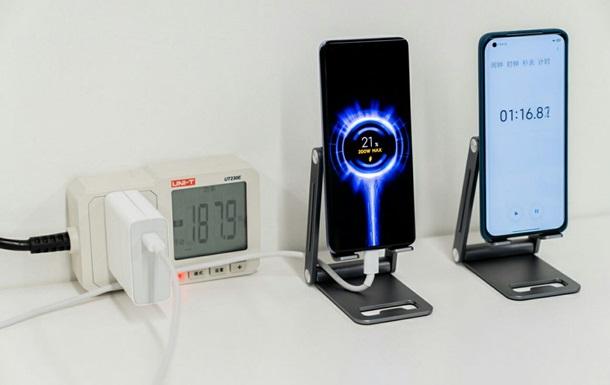 Xiaomi презентовала сверхбыструю зарядку