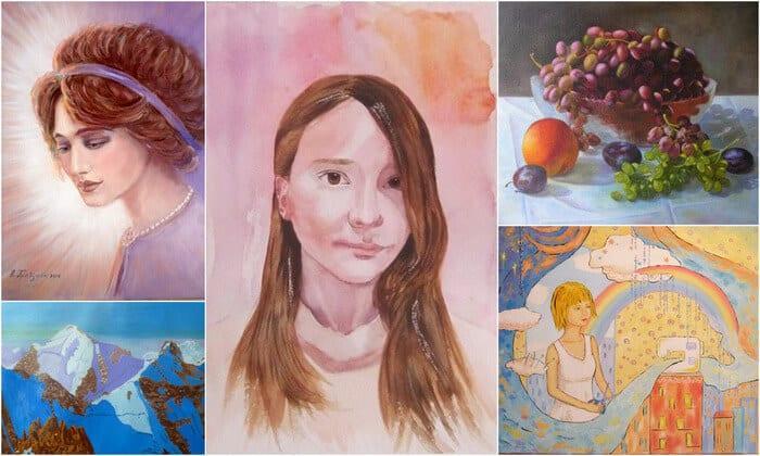 Онлайн школа изобразительного искусства