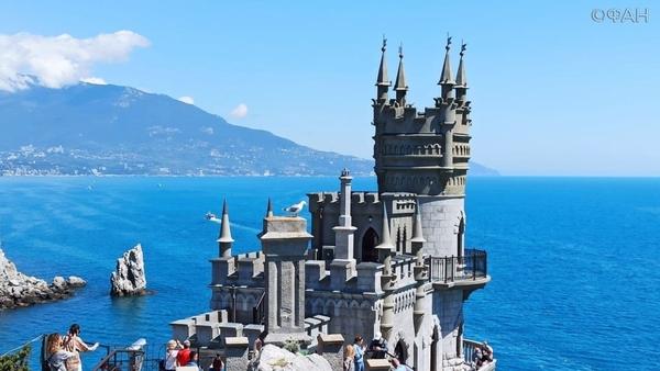 Символ Южнобережья — замок Ласточкино гнездо