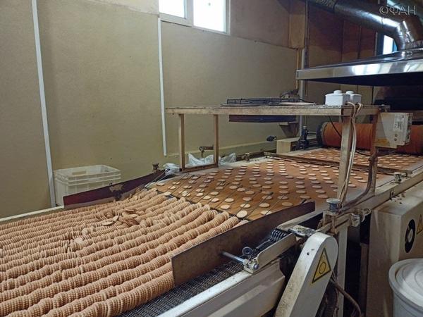 В Крыму показали, как делают пахлаву и конфеты на фабрике сладостей под Симферополем