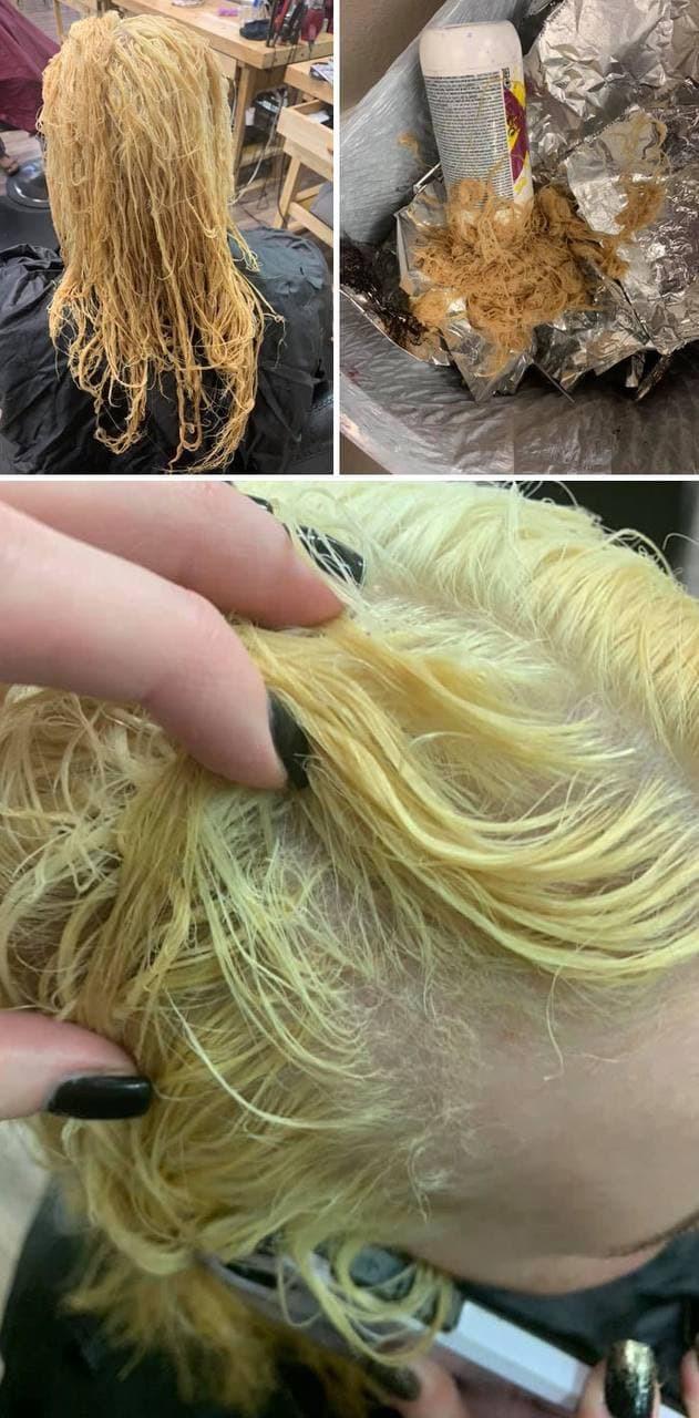 Иногда сэкономленные деньги того не стоят, ведь отращивать волосы придётся очень долго.