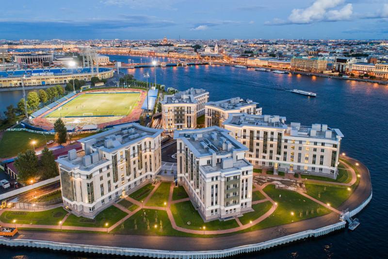 Квартира на Петроградке с красивым видом для влюбленных в Петербург
