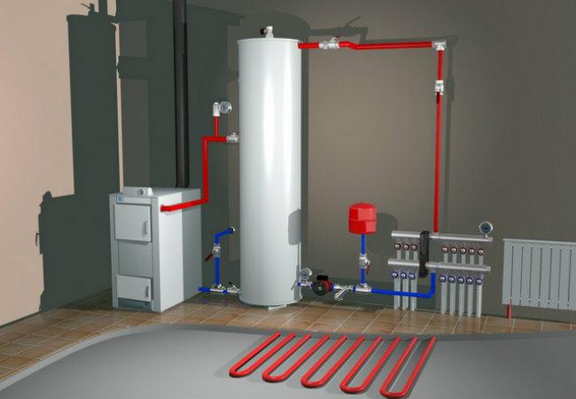 Профессиональный монтаж систем отопления в Киеве. Пусконаладочные работы