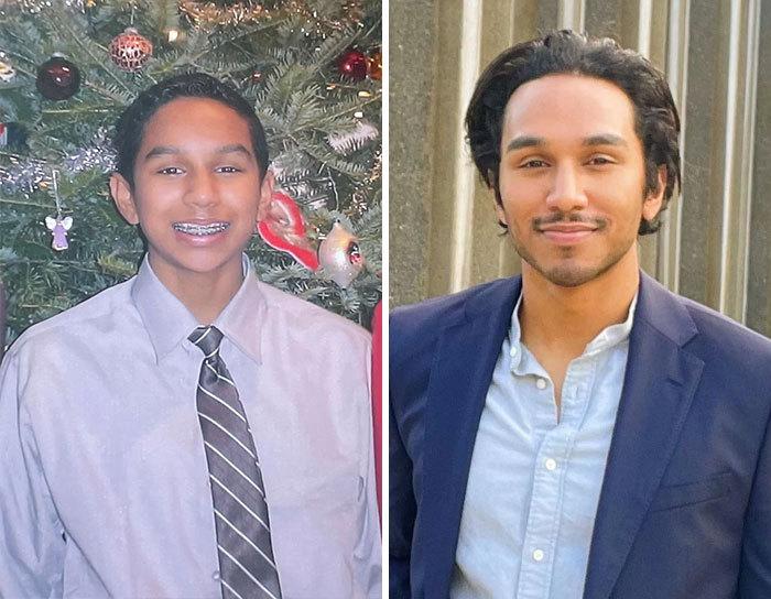 """На фото слева мне 13 лет, а сейчас 29. Когда возраст пошел в плюс""."