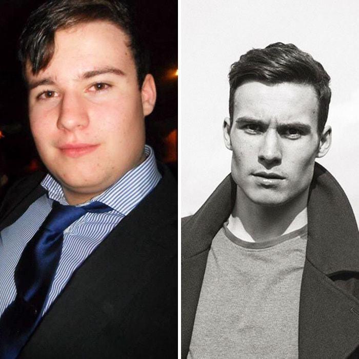 """""""Так выглядит преображение человека, похудевшего на 50 кг за 18 месяцев""""."""