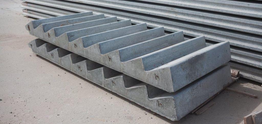 Железобетонные изделия. Маркировка лестничных площадок