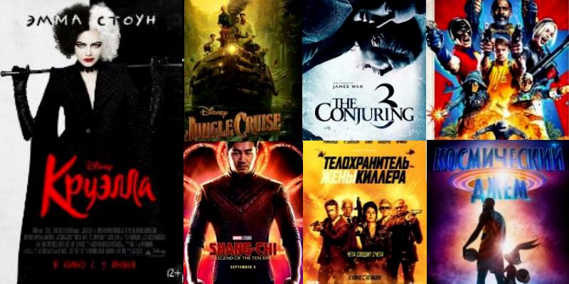 Смотрим фильмы 2021. На что обратить внимание?