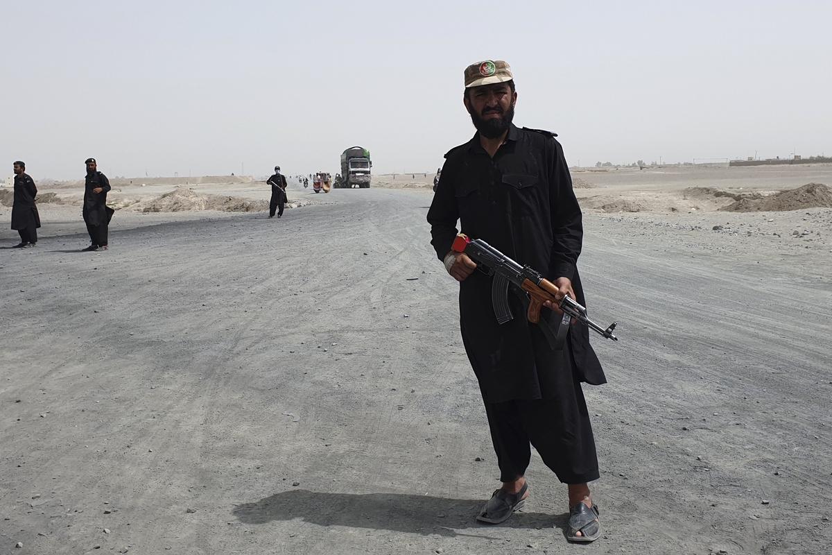 Ситуация на границе Пакистана с Афганистаном.