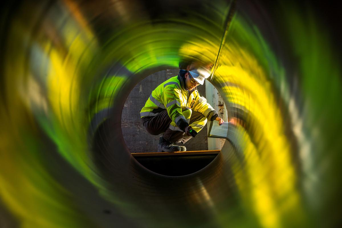 Трубы для газопровода «Северный поток — 2».