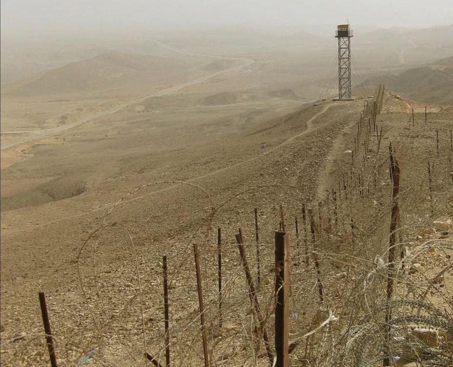 Израильско-египетская граница