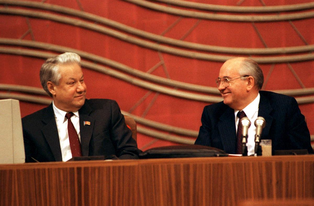 Михаил Горбачев и Борис Ельцин © Юрий Лизунов / ТАСС
