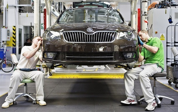 Украина резко увеличила автопроизводство