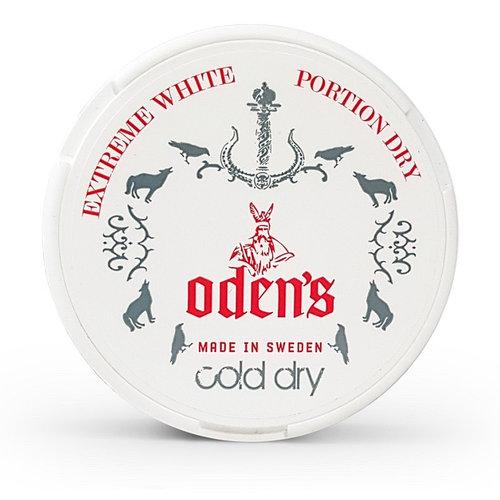 Особенности жевательного табака Odens Cold Dry