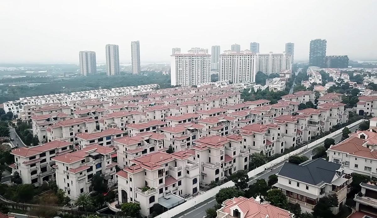 Один из городов-призраков в Китае.
