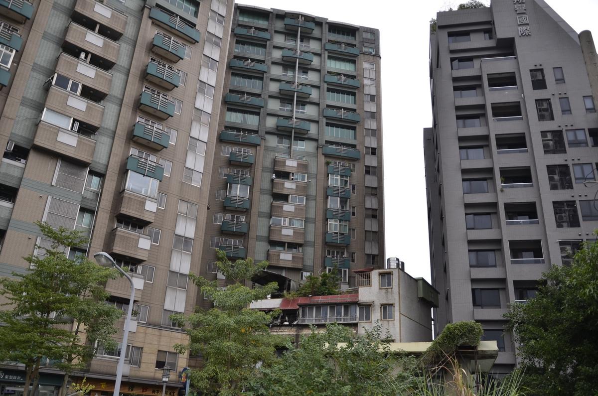 типичное жилье в китайском городе