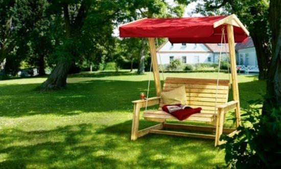 Деревянные садовые качели, чертежи гойдалок для сада с мягкими сидениями, инструкция по сборке своими руками, фото, видео-уроки, цена